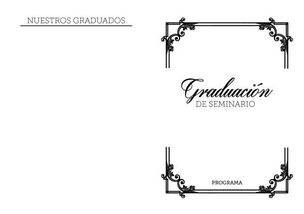 Programa Graduación de Seminario - Conexión SUD