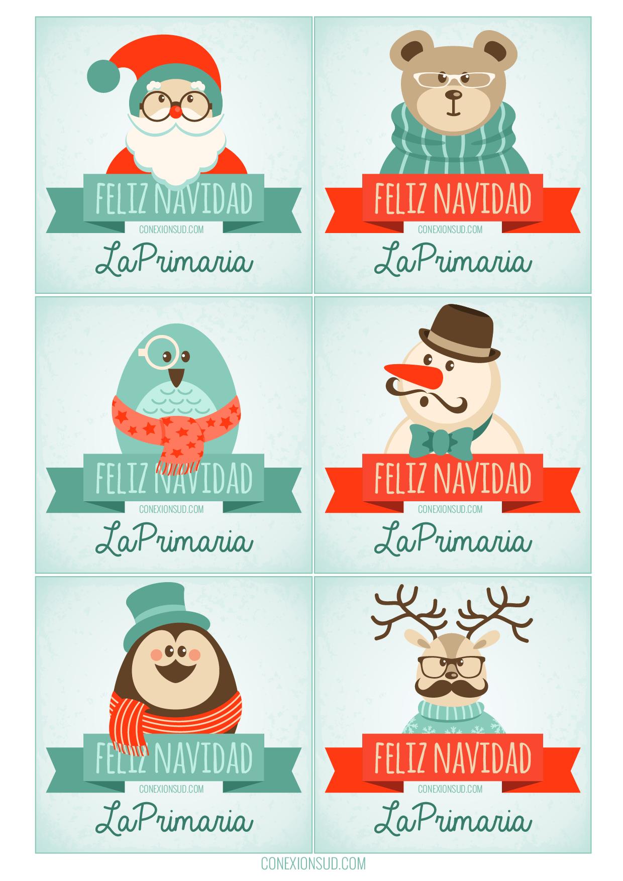 5 ideas de navidad para regalar a los ni os de la primaria - Ideas para postales de navidad ...