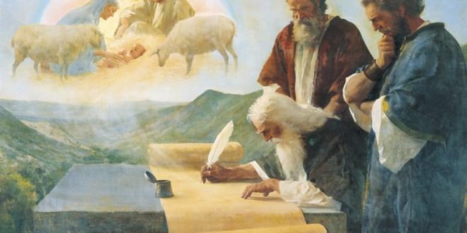 Isaias profetiza del nacimiento de Jesucristo en el antiguo testamento