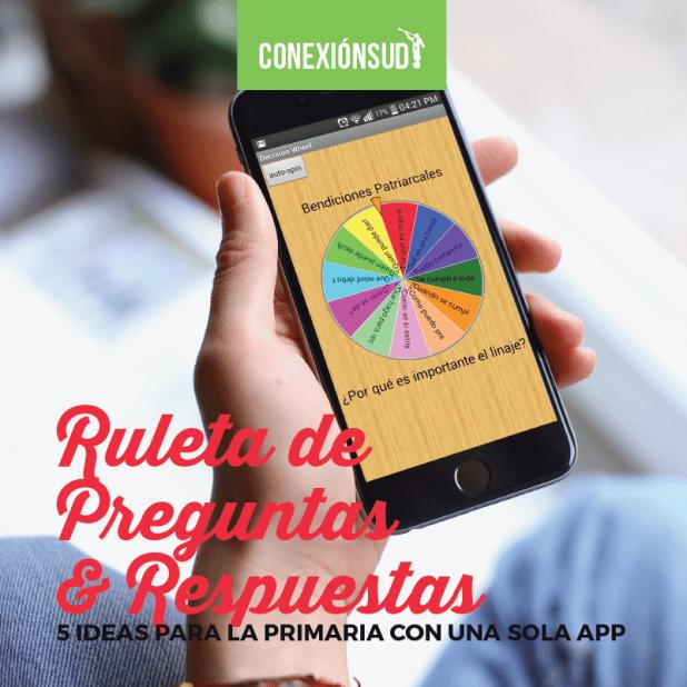 5 ideas para la Primaria con unas sola app-conexionsud