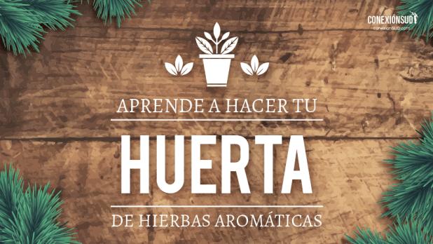 aprende a hacer tu huerta de hierbas aromáticas