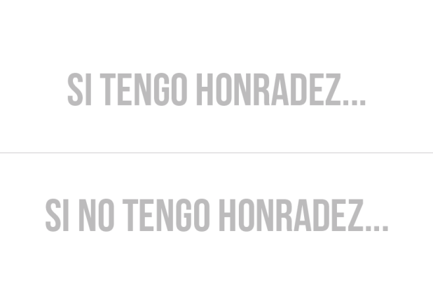 honradez honestidad - ConexionSUD