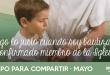 Mayo: Hago lo justo cuando soy bautizado y confirmado miembro de la Iglesia