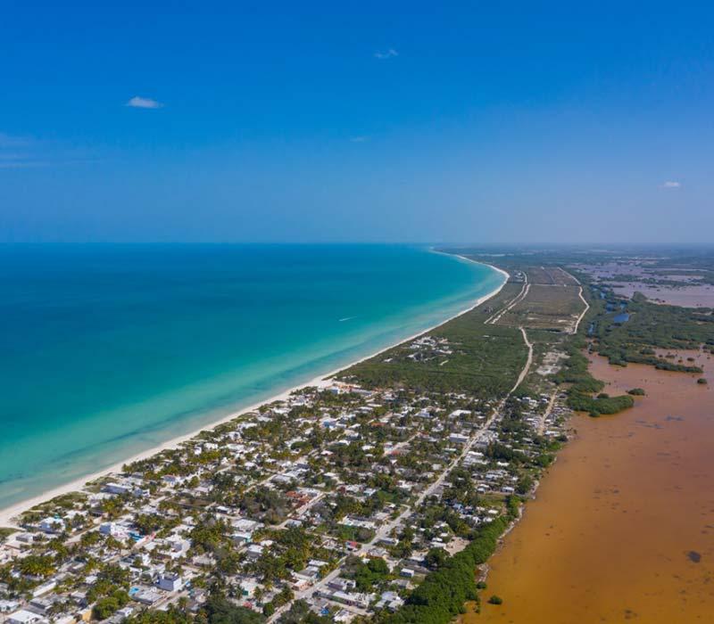 Conexstur-tour-operator-mexico-yucatan-destination-sisal-boat-tour-aerial