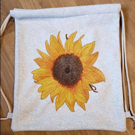 Sweatshirt Drawstring Backpack