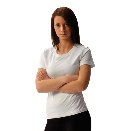 Women's Short Sleeve Crew Neck