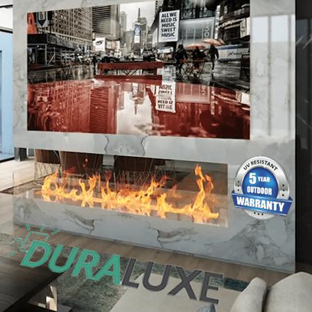 duraluxe metal sublimation panels