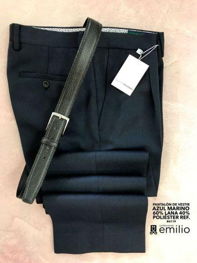 pantalón vestir - hombre