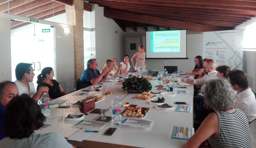 Confecomerç CV organiza una reunión con las organizaciones para estudiar las actuaciones impulsadas por la patronal y las acciones futuras