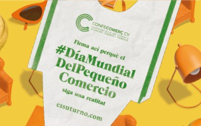"""La CEC y CONFECOMERÇ CV piden al gobierno que lidere la propuesta de creación del """"día mundial del pequeño comercio"""""""