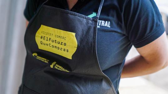 Adhesión Mercado Central de València la campaña 'Pequeño comercio. El futuro que compras'