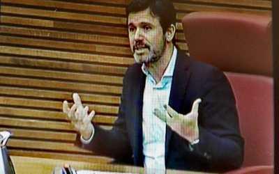 CONFECOMERÇ CV pone de relieve el pequeño comercio como palanca fundamental para salir de la crisis en la comisión de reconstrucción de les Corts