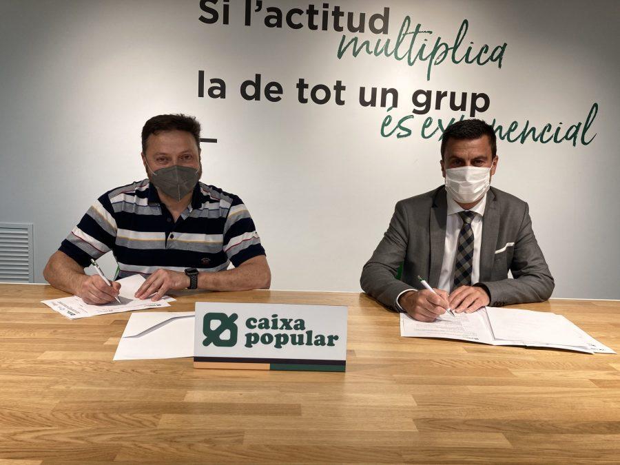Gremio de Carniceros y Charcuteros de València firma un acuerdo con Caixa Popular