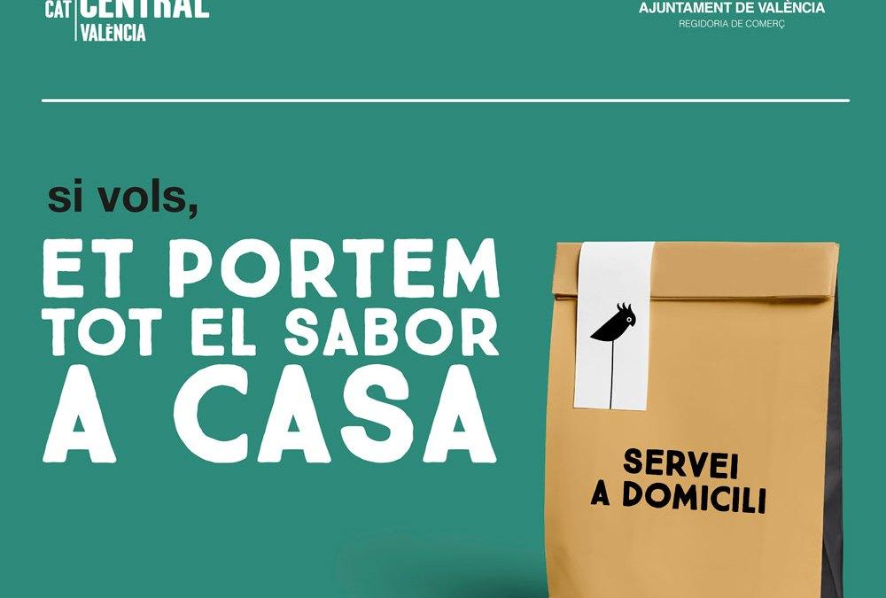 El Mercado Central opta a las ayudas municipales al comercio, que destinará a la promoción del Servicio a Domicilio