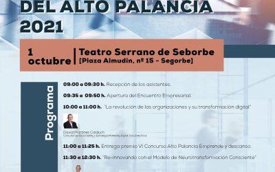 El IV Encuentro Empresarial del Alto Palancia, organizado por la FECAP se realizará el próximo 1 de octubre de 2021 en el Teatro Serrano de Segorbe