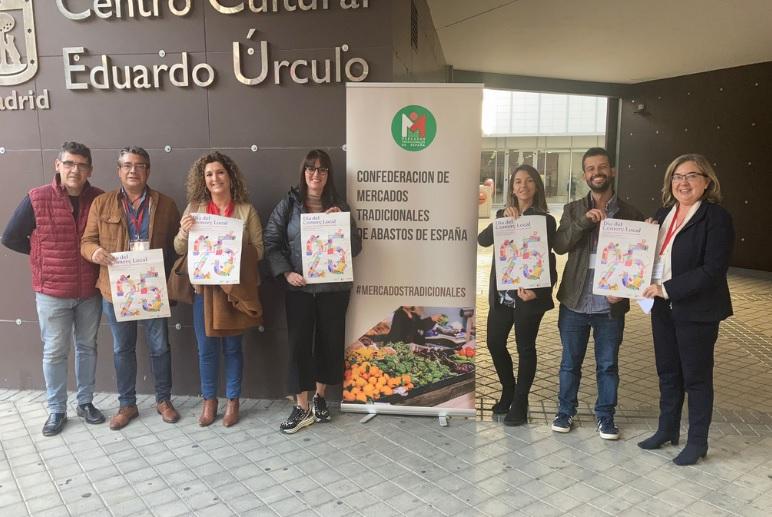 Confemercats presente en el I Encuentro Nacional de Mercados celebrado en Madrid con siete representantes de mercados de Valencia, Castellón y Alicante