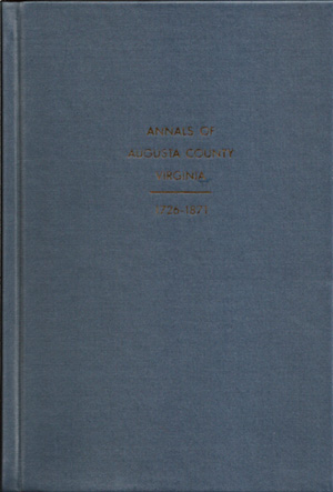 Annals of Augusta County