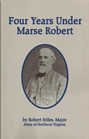 Four Years Under Marse Robert