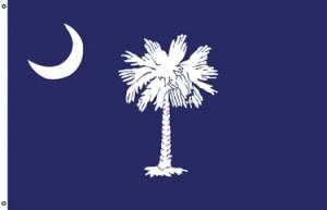 South Carolina 3X5