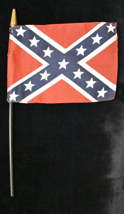 rebel flag stick flags