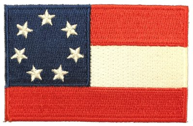 First national stars and bars patch.