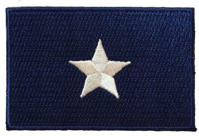 sew on confederate bonnie blue flag patch