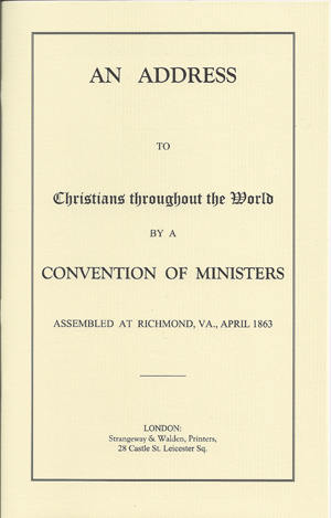 An Address to Christians