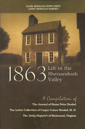 1863 - shenandoah valley