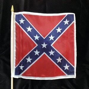 graveside flags.