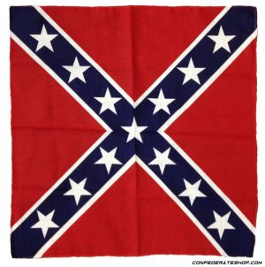 Confederate do rag bandanna