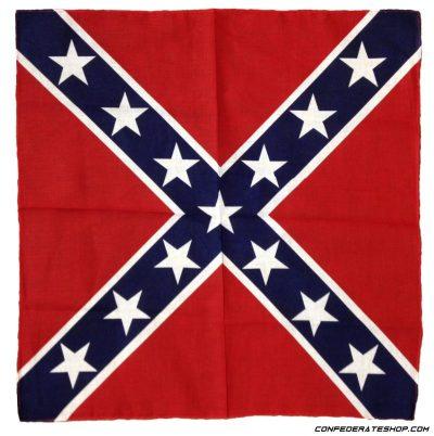 Confederate do rag bandanna