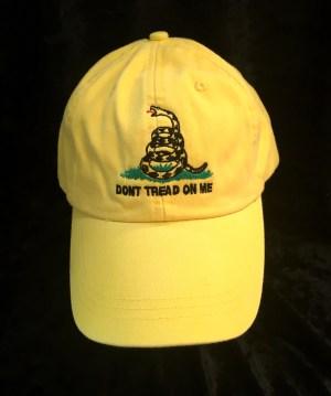 tea party hat yellow
