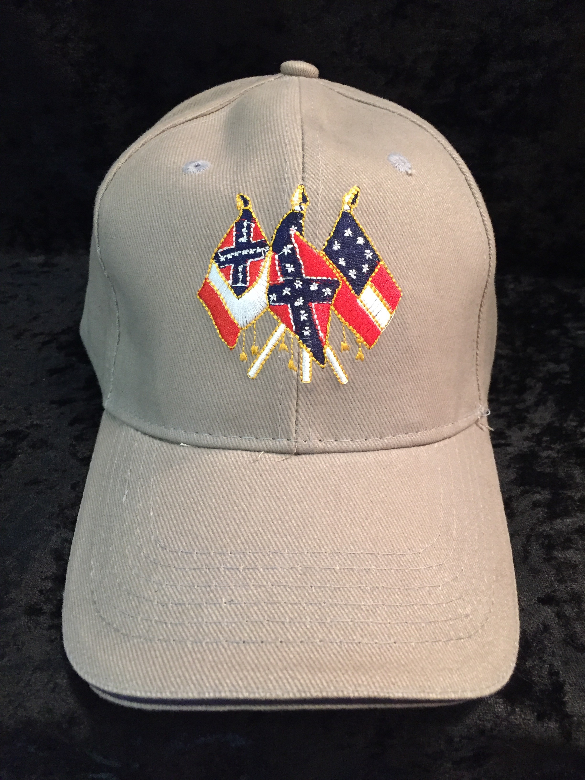 dae04a6fc86 Confederate States of America Hat - Gray - Confederate Shop