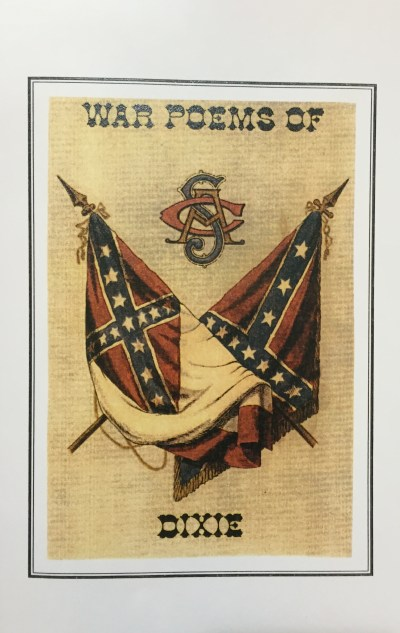 Confederate and southern poetry