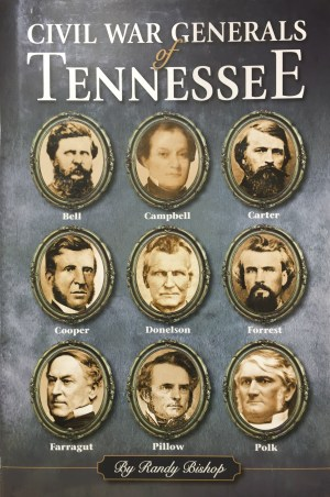 civil war generals in Tennessee