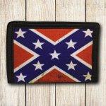Rebel flag wallet battleflag