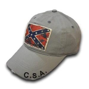 rebel flag ball cap hat