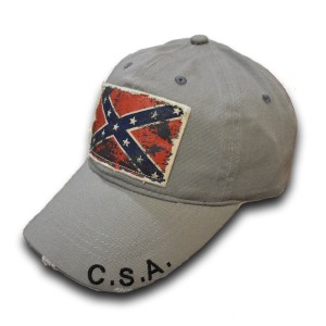 rebel flag ball cap hat