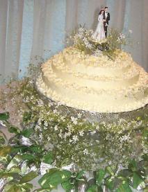 Torta Casamento e Bem-casados