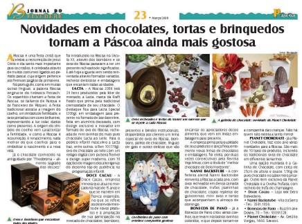 Matéria no Jornal do Belvedere
