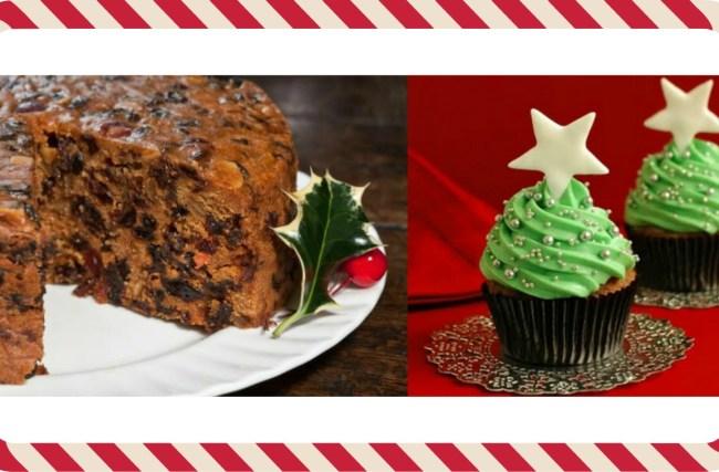 Receita de Bolo e de Cupcake NATALINO!!!