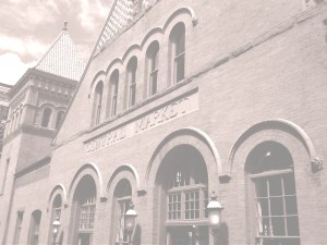 central market exterior historic building