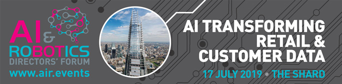 AI Transforming Retail & Customer Data Directors Forum – Wednesday 17th July