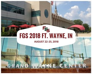 NGS Family History Conference | 2018 Federation of Genealogical