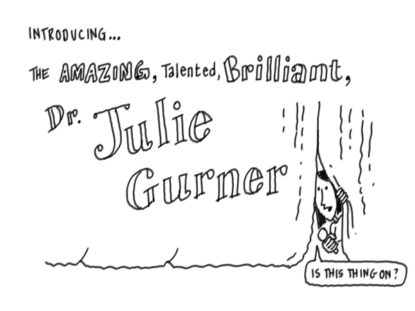 Dr. Julie Gurner keynote illustration
