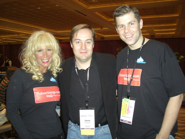 Missy Ward, Jason Calacanis, and Shawn Collins