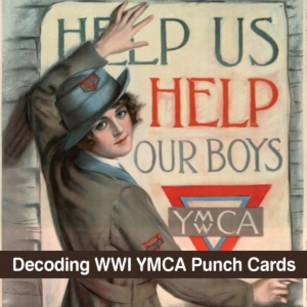 Decoding YMCA Punch Cards
