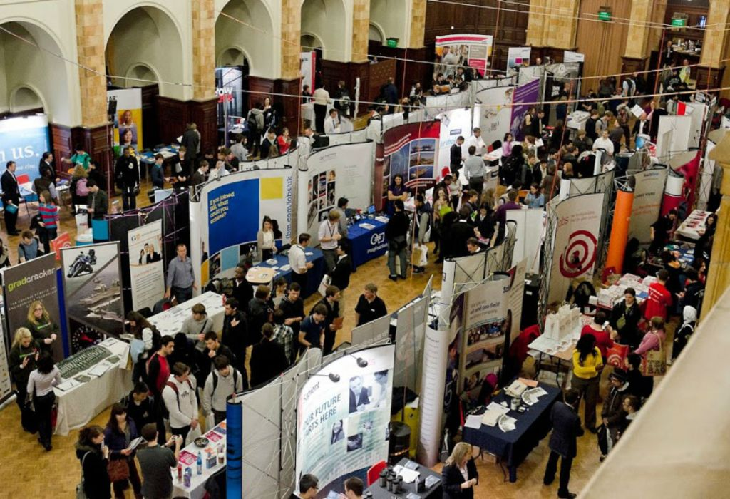 Conference fair in the Great Hall