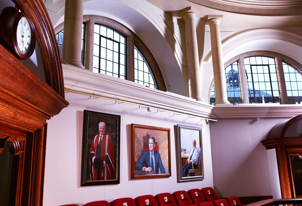 Paintings in the Senate Chamber