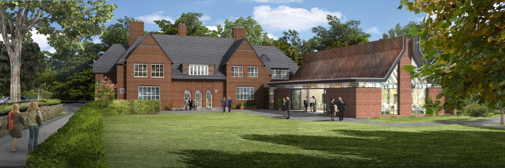 Render of new Hornton Grange